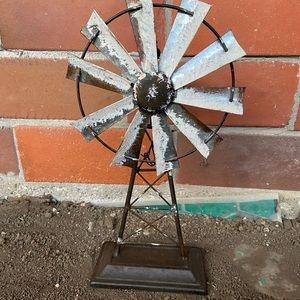 Rustic windmill Decoration - Rustic Decor
